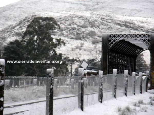 Foto de la nevada en 2010