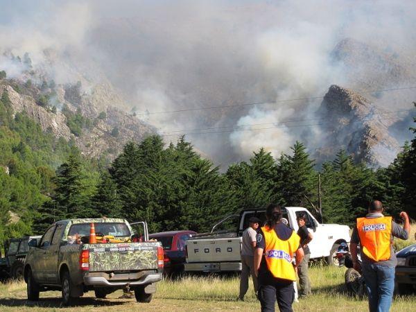 Incendio en el Parque. Febrero 2011.