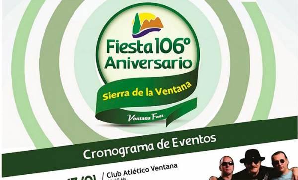 Se preparan los festejos del 106° Aniversario de Sierra de la Ventana