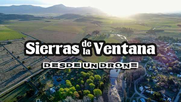 Sierra de la Ventana desde nuestro drone