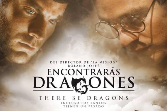 Se estrenó There Be Dragons en la Comarca